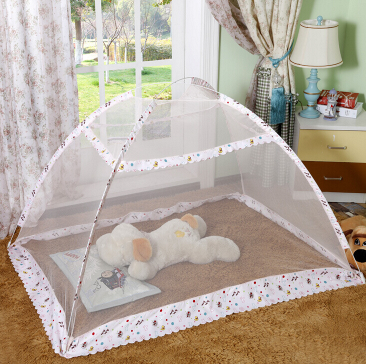 Newborn Baby bed Foldable Mosquito net Floor baby mosquito net cover-in Crib Netting from Mother u0026 Kids on Aliexpress.com | Alibaba Group & Newborn Baby bed Foldable Mosquito net Floor baby mosquito net ...