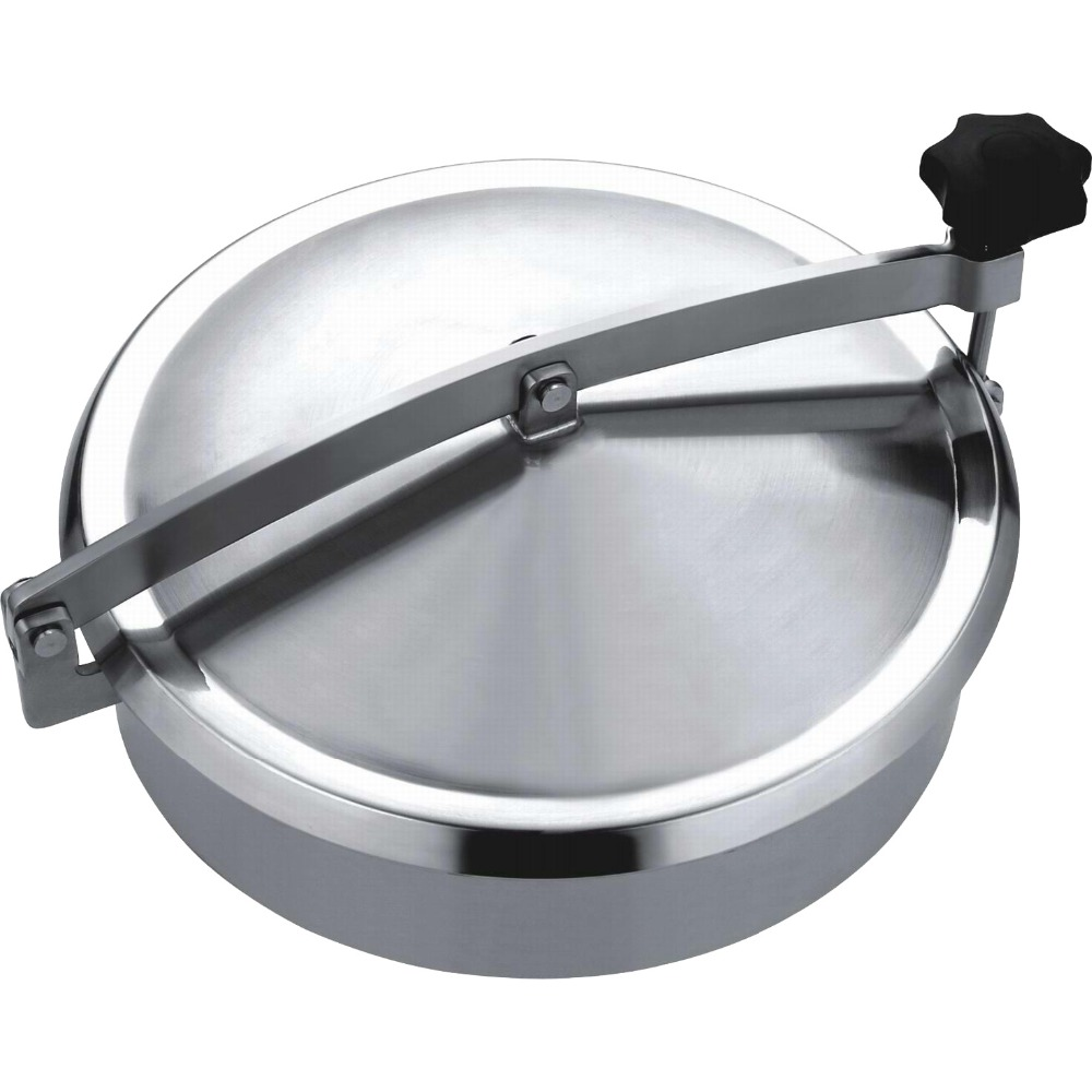 Stainless Steel Non-pressure Round Manhole Cover 250mm Sanitary Manway 150mm non pressure round tank manway ss304 stainless steel manhole cover