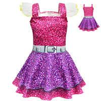 2019 sommer Mädchen lol Kleid Puppen Mädchen Geburtstag Party Kleid Halloween Weihnachten Kind Mädchen Cosplay Kostüm Kinder moana Kleidung