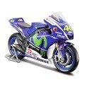 Maisto 1:18 Yamaha YZR M1 Valentino Rossi No 46 MotoGP 2015 MOTORCYCLE BIKE Model FREE SHIPPING