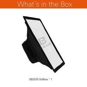 Image 2 - Универсальный складной мини рассеиватель Godox 20 см x 30 см софтбокс для вспышки Godox, Canon, Nikon