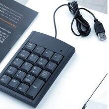 Numerische Ziffernblock Tastatur Für Laptop PC Notebook Computer USB Mini 19 Tasten Num