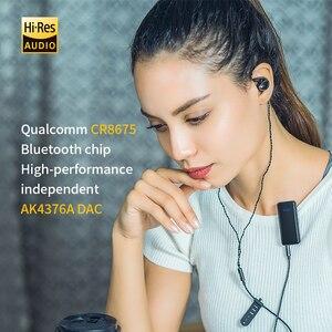 Image 4 - FiiO BTR3 csr8675 USB DAC/Bluetooth מקלט aptXLL/aptXHD/LDAC עבור iphone/אנדרואיד טלפונים/מחשב