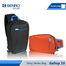 Benro Gallop 10 Sling Bag Fashion Light Camera Bags Case For Amateur Photographers Free Shipping