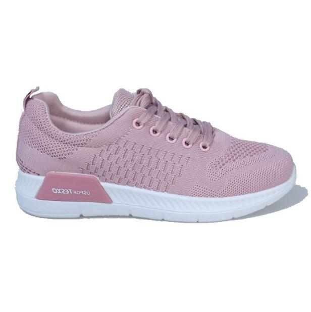 2018 New Autumn Breathable Mesh Women Casual Shoes Vulcanize Female Fashion Sneakers Lace Up Soft High Leisure Zapatos De Mujer 2