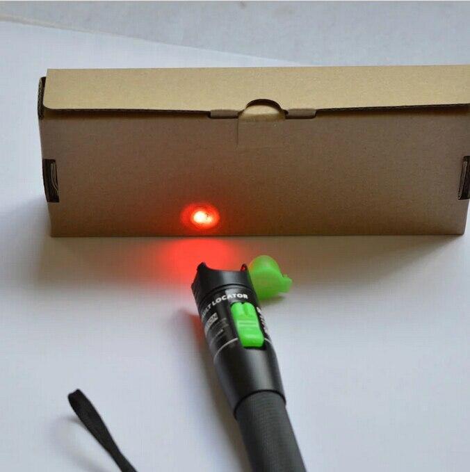 Free shipping 20km Visual Fault Locator 20mW Fiber Optic Laser Pen Fibra Optica Cable Tester 20KM