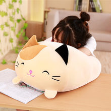 New Cute Fat Dog Cat Totoro Penguin Pig Frog Plush Toy Stuffed Soft Animal Cartoon Pillow Lovely Christmas kids Toy good gift(China)