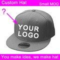 10 шт./лот полиэстер 3d вышивка логотипа малый заказ мальчика пользовательские крышкой