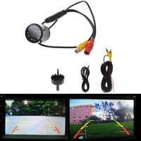 OOTDTY 1 3 Inch Color CMOS 120 Degree Car Rear View Backup Camera With 10 LEDs