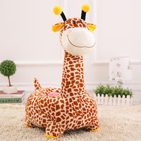 Cartoon Giraffe Cute Child Seat PP Cotton Plush Soft Baby Sofa Infant Matching Removable Baby Sofa Chair Juguetes Kids Soft Toys
