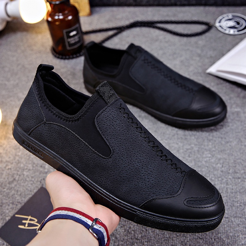 YD-EVER 2018 Brand New Style Retro Style Men Shoes, High Quality Casual Shoes Men Flat shoes size39-44