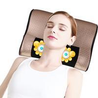 HANRIVER 4 D Positive Negative Massage Cervical Spine Massager Neck Shoulder Waist Massage Pad Multi Function