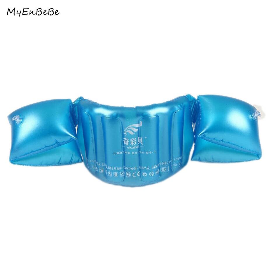 2-12Y Kids Swim Vest Baby Arm Float Circle Swim Trainer Child Inflatable Life Vest Jacket Children Swimming Pool Accessories