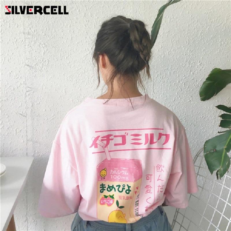 Shirt Graphic tees Women Clothing Summer Funny t shirts Harajuku Hipster Ladies T-shirt ...