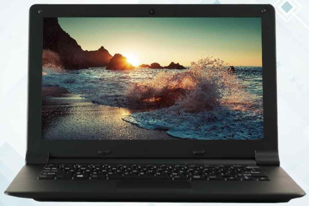 Ultraslim 11.6 אינץ 2 גרם RAM 32 גרם EMMC 60 גרם M2 SSD Intel Atom x5-Z8350 1.44 ghz Quad Core מחשב נייד מחשב Win 10 Wifi Webcam Netbook
