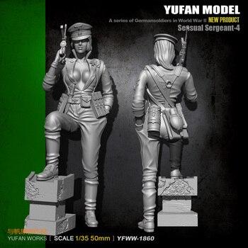 1/35 독일 여성 군인 수지 병사 YFWW35-1860