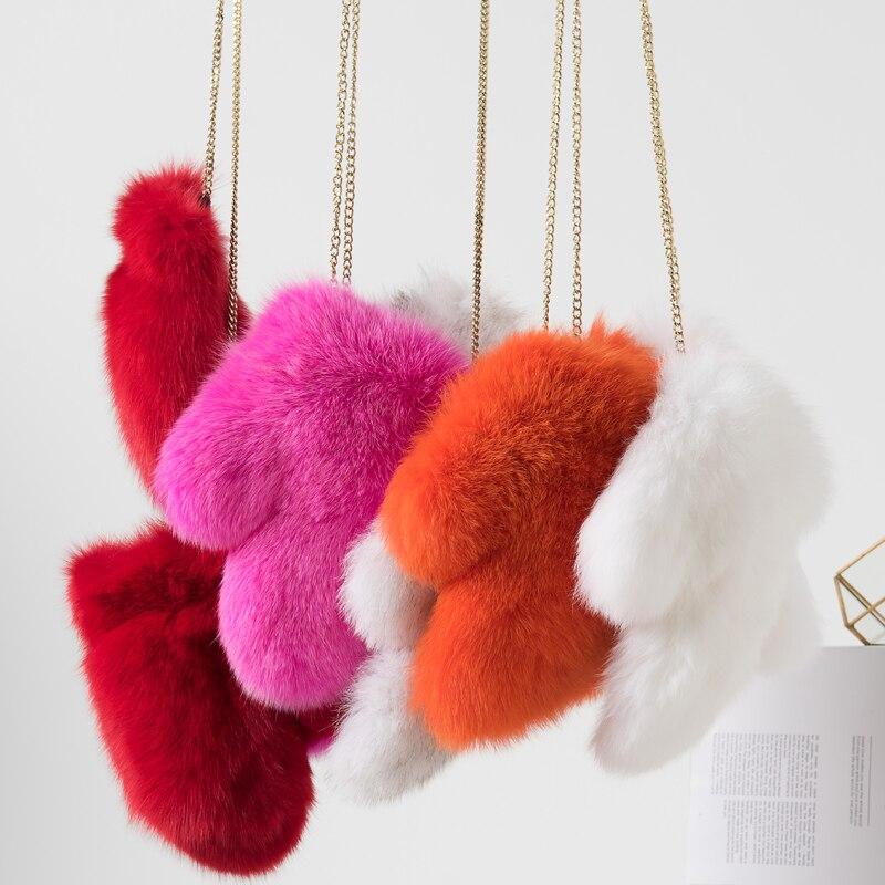 Mode nouveau doux femmes hiver Sexy réel fourrure de renard réel gants en cuir mitaines YH52