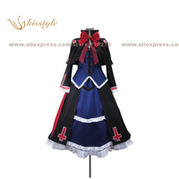 Kisstyle Fashion BlazBlue Alter Memory Rachel Alucard Uniform COS Clothing Cosplay Costume,Customized Accepted