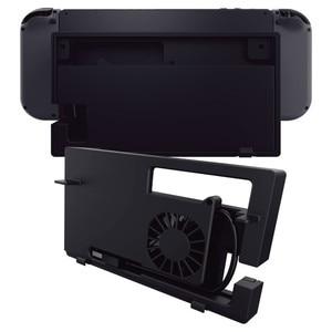 Image 2 - Nintend Schakelaar Dock Koeler Koelventilator Voor Nintendo Switch TV Dock Nintendos USB Externe Temperatuurregeling Luchtstroom