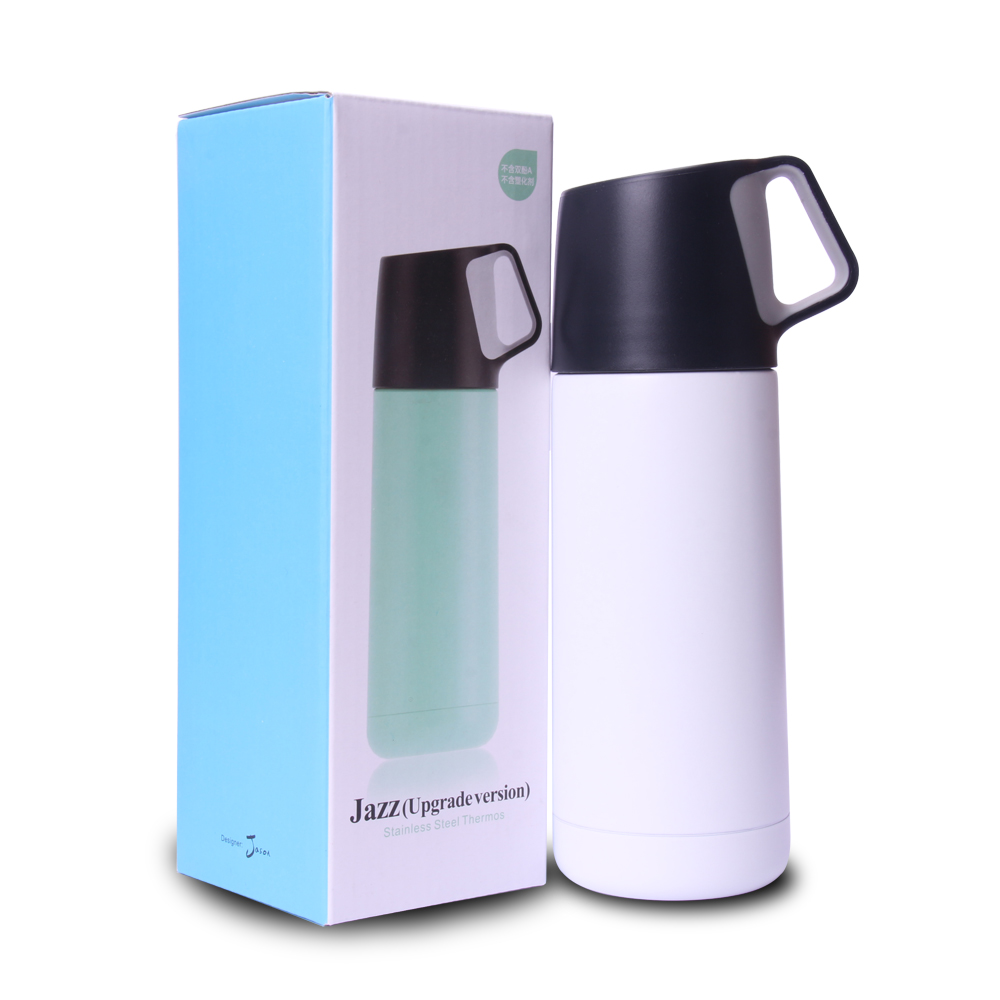 Tee Thermoskanne Us 13 2 350 Ml Thermosflasche Candy Farbe Isolierflasche Wärme Wasser Tee Tasse Kaffee Tassen Isolierte Edelstahl Thermoskanne Fot Reise Hause In