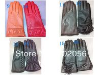 Women Ladies Real Leather Gloves Leather GLOVE Gift Accessory Mixed 12 Pairs Lot 3172