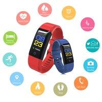 Smart Bracelet Color Display Wristband fitness bracelet activity tracker cicret bracelet blood pressure watch fitness tracker