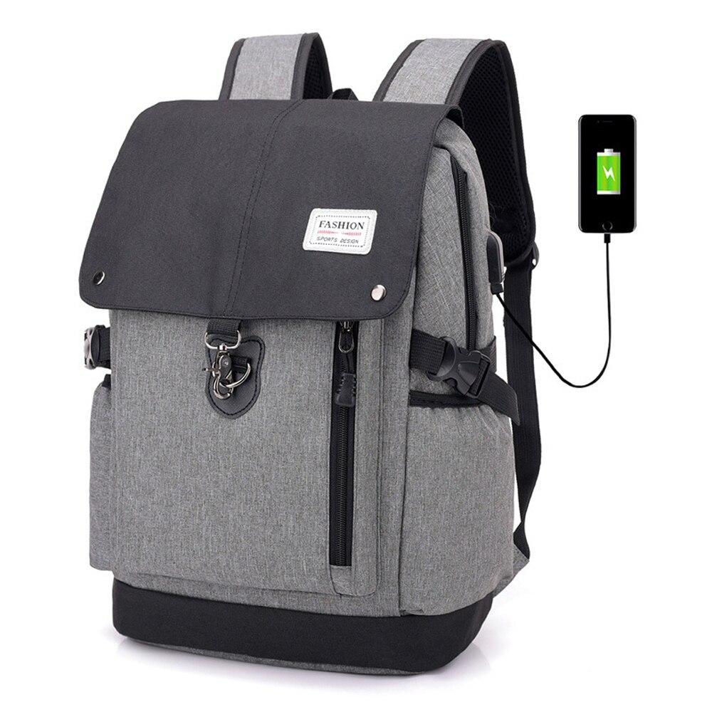 Hommes sac à dos pour IPAD téléphone USB charge affaires sac à dos voyage sacs à dos Mochila Hombre pour homme grande capacité sac à dos