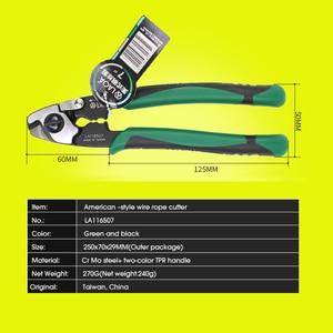 Image 4 - 7 дюймовые ножницы для резки проволочной веревки LAOA, многофункциональные американские ножницы для резки проволоки, модели le116507