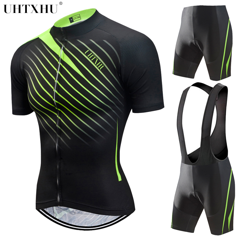 Uhtxhu 2018 Cycling Set Women Summer Style Bicycle Mtb Bike Sport Cycling Clothing Maillot Ciclismo Short Sleeve Jersey