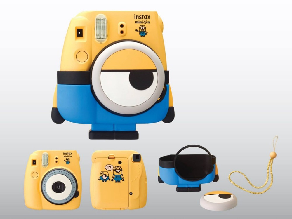Minion Camera Case : Fujifilm instax mini 8 camera minions limited edition yellow special