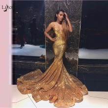 Buy gold sequin mermaid prom dresses and get free shipping on AliExpress.com a73666504b5d
