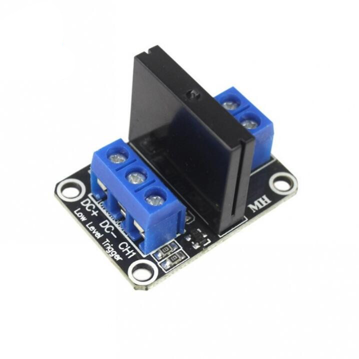 <font><b>A03B</b></font> 1 way 5V low level solid state relay module / with fuse solid state relay 250V2A image