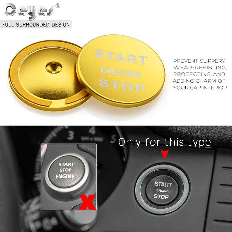 Car Start Engine Button Key Ring for LAND ROVER (27)
