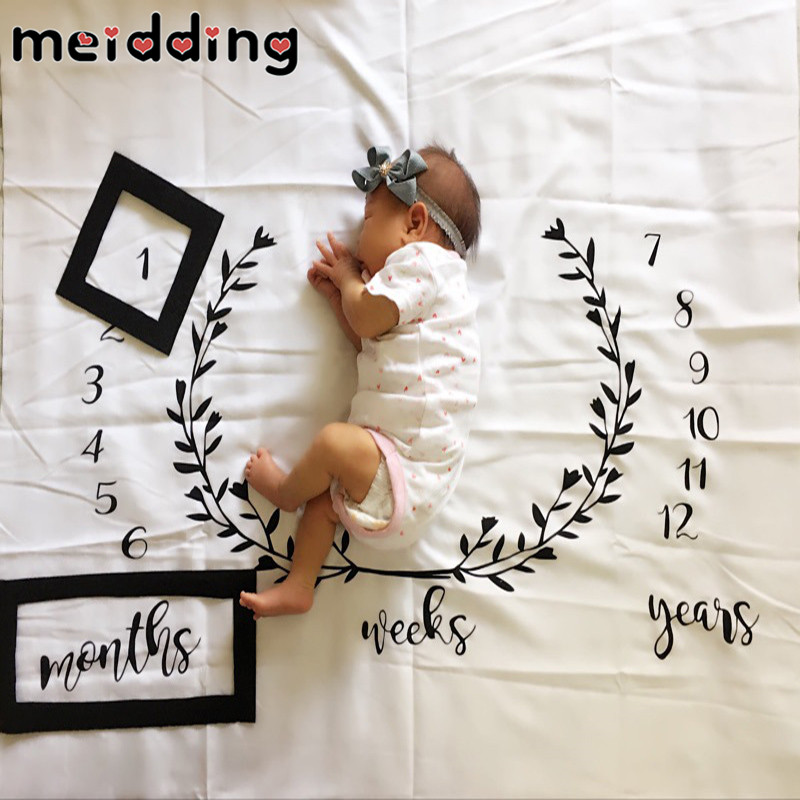 MEIDDING 1Set Creative Cute Baby Shower Photography Decor Birthday Party Background Photo Props Home DIY Party Decoration Supply