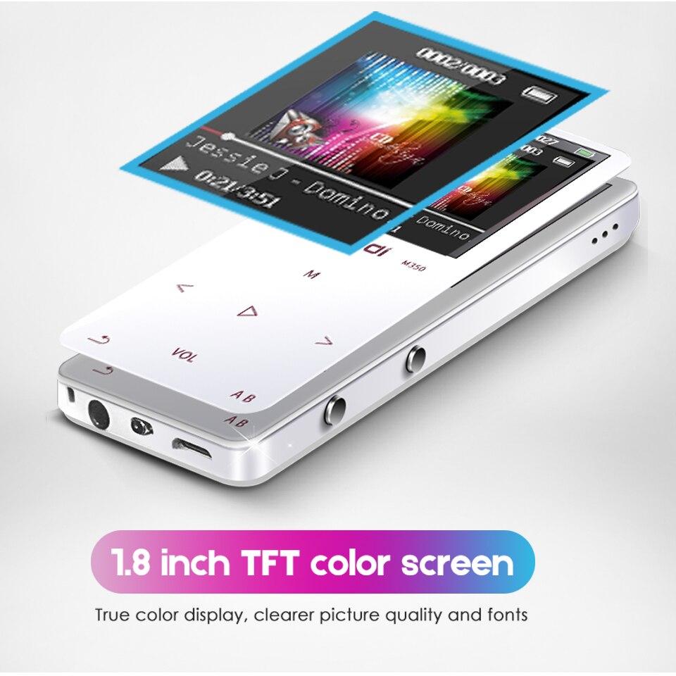 1.8 pouces LCD écran professionnel Flac MP3 musique HiFi lecteur sans perte enregistreur Mini baladeur Audio Radio Speler Colorfly écouteur