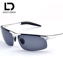 DOLCE VISION Sunglasses Polarized Driving Sun Glasses for Male Brand Designer Fashion Oculos High Quality Shades Eyewear New