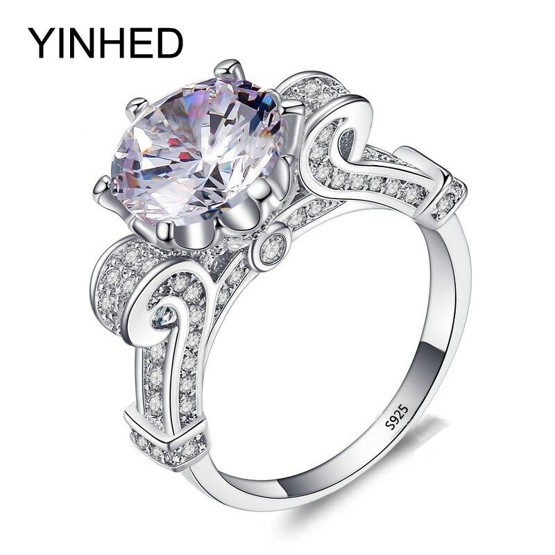 Online Get Cheap Luxurious Wedding Rings Aliexpresscom Alibaba