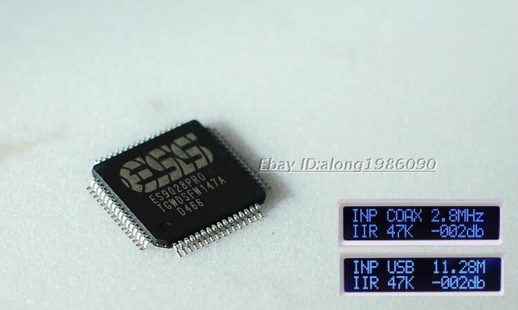 Готовые ES9028PRO DSD DAC/XLR Выход + пульт + amanero USB карты