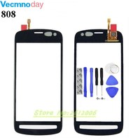 Original High Quality For Nokia PureView 808 Touch Screen Digitizer Sensor Front Glass Lens Panel Tools