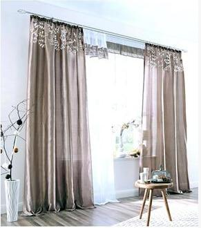 online kaufen großhandel beige flächenvorhänge aus china ... - Vorhange Wohnzimmer Braun