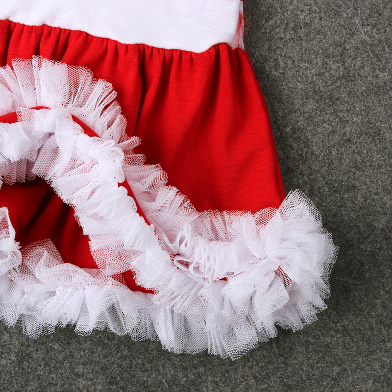 b8bb1bdec EABoutique Winter girls clothes New Kids Girls Santa costume Christmas  outfit with tutu lace work christmas hat 2 piece set-in Clothing Sets from  Mother ...