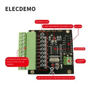Image 3 - ADS1256 وحدة 24 بت ADC AD وحدة عالية الدقة ADC الحصول على البيانات بطاقة التناظرية لتحويل الرقمية