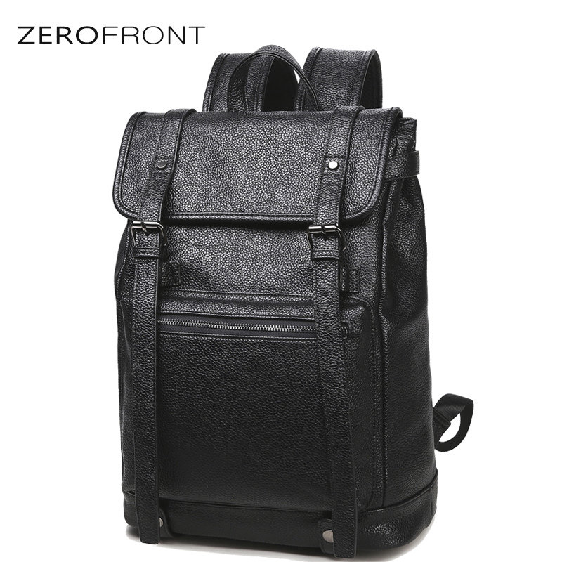 Men Business Casual Backpacks for School Travel Bag Black PU Leather Fashion Shoulder Bags Men's Backpack 15 inch laptop bag three box mens backpack fashion pu leather backpack leisure student school bag for women men vintage casual laptop business bags