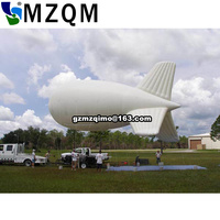 Advertising inflatable inflatable balloon helium blimp helium balloon, inflatable zeppelin helium balloon for sale