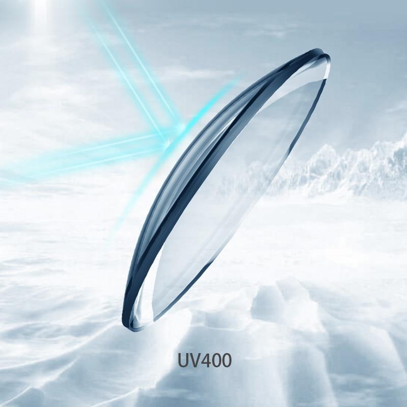 1.74 lentilles de Prescription optiques asphériques minces Ultra minces à indice élevé lentilles de myopie lentilles optiques protection UV Anti-rayonnement - 6