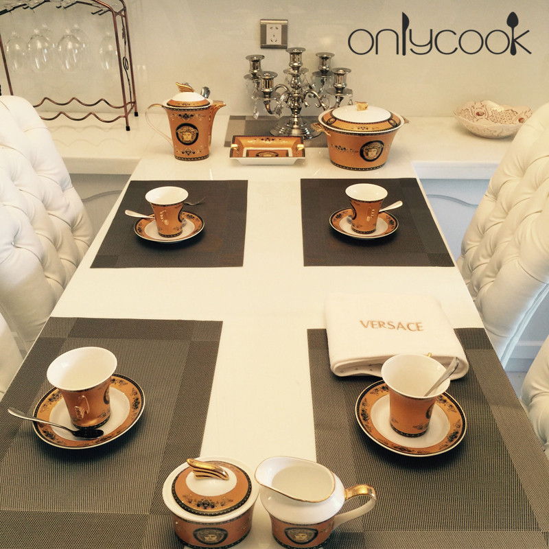 Onlycook Western Pad Table Linen Fashion Pvc Heat Dining Mat Disc Pads Bowl Water Wash Quick Drying In Mats From Home Garden On