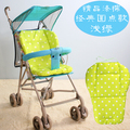 General Cotton Mat Stroller,0-36 Months,Cotton Lengthened Baby Stroller Cushion Padding Liner,Colorful Thickness Mattress