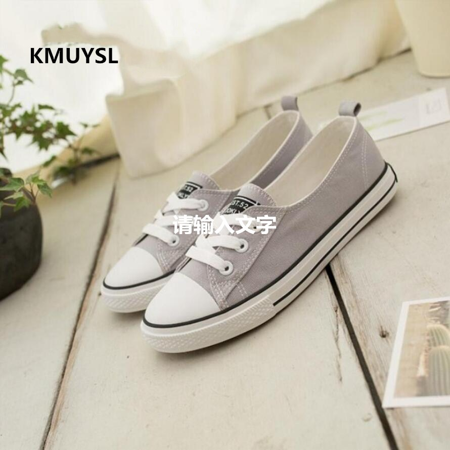 Women Shoes 2016 Spring Summer Casual Shoes Women Canvas Shoes Flats Breathable Solid Color Flat With Shoes