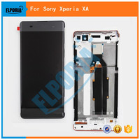 For Sony Xperia XA LCD Display Touch Screen Digitizer Assembly With Frame F3111 F3113 F3115 Replacement 5.0 For SONY XA LCD