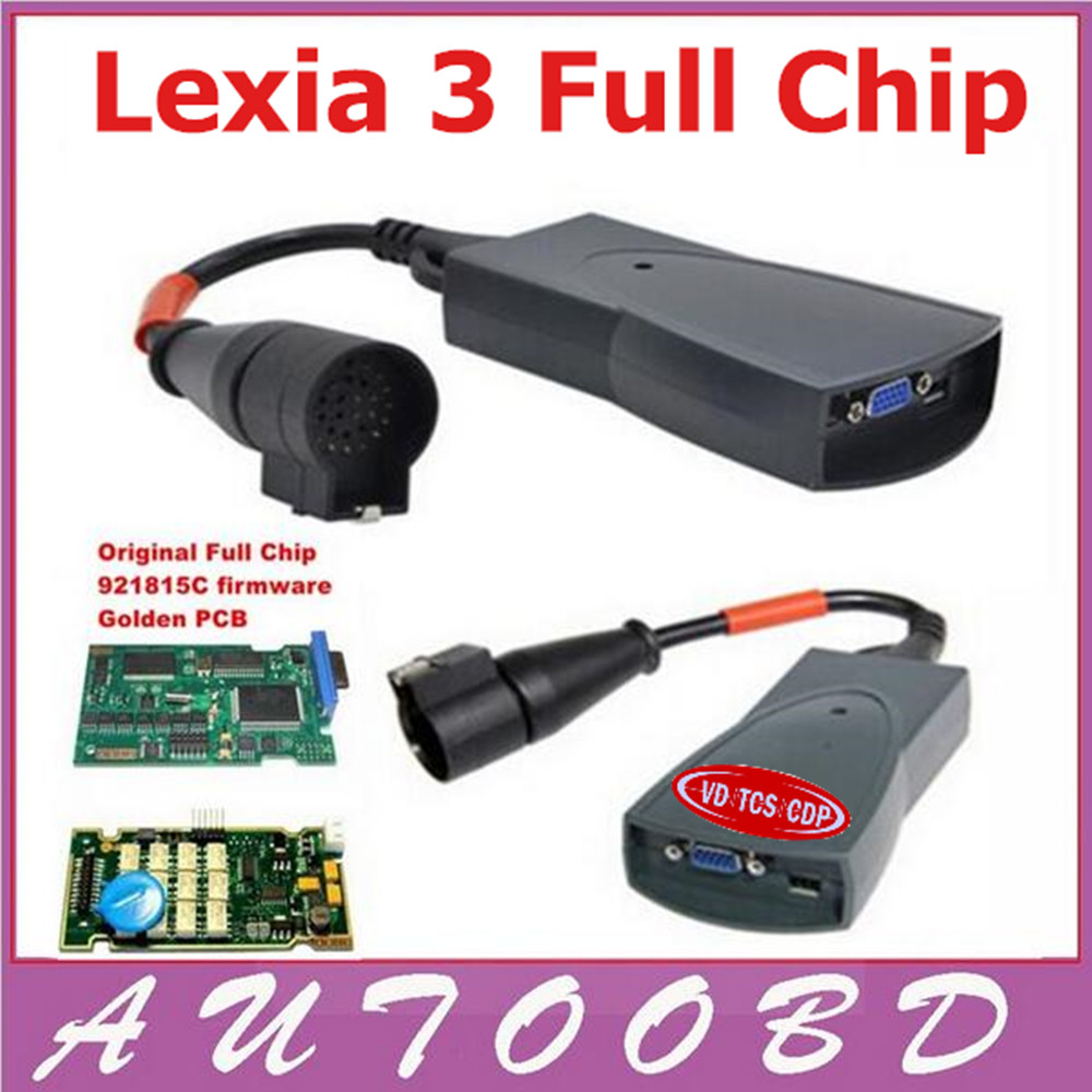 Newest Lexia3 Diagnostic Scanner Lexia 3 with Full Chip Full Function V47 PP2000 Diagbox V7.56 FW 921815c Diagnostic tool hot new xtuner e3 easydiag wireless obdii full diagnostic tool with special function pefect replacement for vpecker easydiag